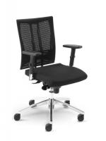 Scaun de Birou Ergonomic tip Office @-Motion R15K steel 33 chrome