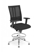 Scaun de Birou Ergonomic tip Office @-Motion R18K RB steel 33 chrome