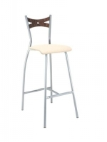 Scaun Bar Fiamma Hocker chrome