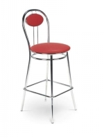 Scaun Bar Tiziano Hocker chrome