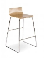 Scaun Bar Cafe VII Hocker chrome